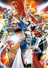 Tatsunoko vs Capcom  - High Quality Wall Poster 32 in x 22 in - Fast Shipping