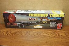 AMT FRUEHAUF TANKER SEMI-TRAILER SHELL 1/25 SCALE MODEL KIT