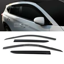 Smoke Window Sun Vent Visor Rain Deflector Guards For HYUNDAI 2016-17 Tucson TL