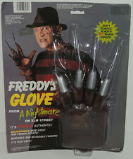 1984 FREDDY KRUEGER GLOVE Nightmare on Elm Street Halloween Costume Prop MIP