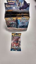 POKEMON TCG SUN AND MOON BOOSTER PACK ! Free Shipping!