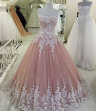 Lace Wedding Dresses NEW Corset Long Ball Gown Quinceanera Prom Pageant Gowns