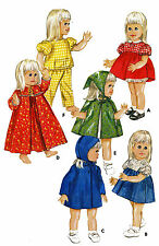 """Baby 1st Step - Goody Two Shoes 20"""" Doll Clothes PATTERN 4169 Dress Bloomers"""