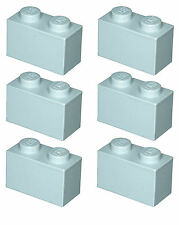 Missing Lego Brick 3004 OldGray x 6 Brick 1 x 2