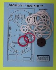 1977 Gottlieb Bronco / Mustang pinball rubber ring kit