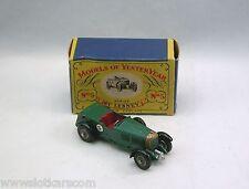Matchbox n° Y5-1-4 Bentley 1929 Le Mans Model of Yesteryear Neuf/boîte  (#MBA)