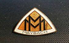 Maybach Brosche emailliert 36x24mm Preissler 20er Jahre alt+original