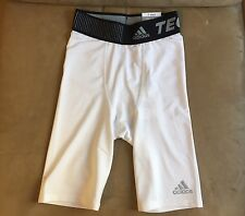 ADIDAS COMPRESSION TECHFIT BASE LOGO WAIST STAY DRY BRIEF BOXER UNDERWEAR S XS