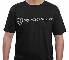Rockville Fitted T-Shirt - Size XXXL- Dry-Fit & Comfy 65% Polyester & 35% Cotton
