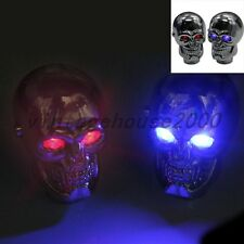 Universal Car Red LED Skull Manual Gear Stick Shift Knob Shifter Lever Cover