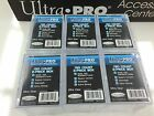 Ultra Pro 150 Count 2-Piece Clear Storage Box x6--Best for NRL 150 card Set