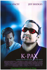 K-PAX MOVIE POSTER Original SS 27x40 KEVIN SPACEY JEFF BRIDGES