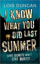 I Know What You Did Last Summer, New, Duncan, Lois Book
