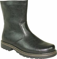 Martin-6 Men Winter Boot Fur Lining Size 7 (Fit Smaller-Order One Size Bigger)