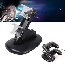 PlayStation PS4 Dual Controller LED Charger Dock Station USB Charging Stand KP