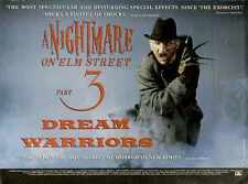 Nightmare On Elm Street 3 Poster 02 A3 Box Canvas Print