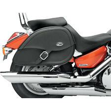 Saddlemen Drifter Teardrop Saddlebags with Shock Cutaway Honda VTX1300 VTX1800