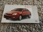 2005 Kia Spectra   Quick Reference Guide Owners Manual Supplement