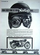 1963 NORTON 'Dominator 650 Sports Special' Motor Cycle ADVERT - Vintage Print AD