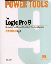 Rick Silva Power Tools For Logic Pro 9 BOOK DVD GUIDE