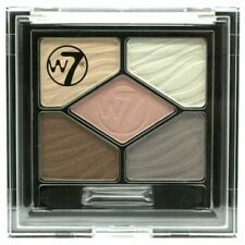 W7 silky eyes eye shadow - 5 shades in get naked - 4.5g