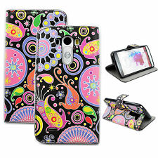 Jellyfish Phone Leather Print Flip Wallet Card Pocket Case Cover Best For LG G3