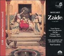 Mozart: Zaide (CD + Catalogue, Apr-2004, Harmonia Mundi NEW Free Shipping SEALED