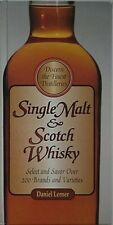SINGLE-MALT & SCOTCH WHISKEY, 1997 BOOK (MORE THAN 200 BRANDS & VARIETIES