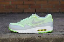 2015 NIKE AIR MAX 1 ESSENTIAL SZ 10.5 VAPOR GREEN VOLT MIST GREY 537383-301