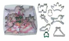 Princess Cookie Cutter Set 8-Piece New Free Shipping, New by R & M 1819 Boxed