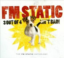 FM Static-3 Out Of 4 Ain't Bad 3 CD Set Christian Rock/Punk (Brand New Sealed)