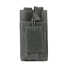 Gray Pouch Fits KENWOOD TH-K20A TH-D72A TH-K2AT Motorola HT FRS HAM GMRS Radios