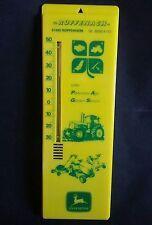 Ancienne plaque publicitaire en plastique thermomètre John deere