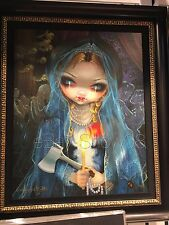 Jasmine Becket-Griffith The Bride Haunted Mansion Double Matted Print Disney NEW