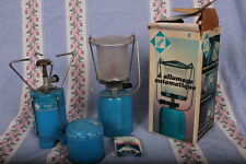 Vintage/Retro CAMPING GAZ SET - stove, lantern and spare cylinder.