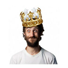 NPW Worldwide KING For The Day Inflatable Crown W13634 Birthday/Bachelor