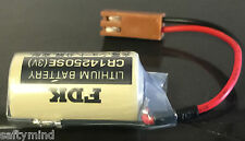 Brand New Sanyo FDK CR14250SE 3V Lithium Battery with Connector