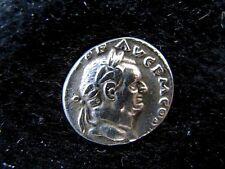 Vespasian Denar Rom 72-73 CONCORDIA AVGVSTI Füllhorn Patera Thron RIC II² 357