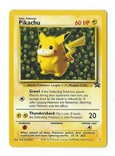 Pikachu BLACK STAR TCG Pokemon PROMO Card #1