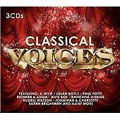 CLASSICAL VOICES [2015] 3 CD - 48 TRACKS - VARIOUS - BRIGHTMAN PAVAROTTI DOMINGO