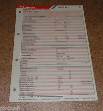Inspektionsblatt Honda MBX 50 SD Baujahr 1987