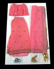 "Vintage INCOMPLETE Mattel 1964 Barbie "" ARABIAN NIGHTS #0874 "" Outfit"