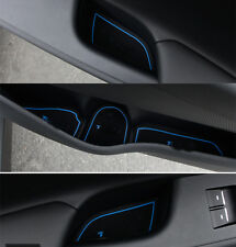 Blue 22Pcs Organizer Box Gate Slot Mats For Hyundai Tucson 2016 2015