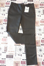 M&S Per Una Speziale BNWT Black Stretch Jeans Lux Waxed Fabric, size 12 Short
