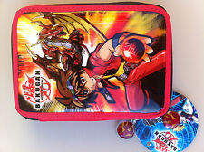 BAKUGAN PENCIL CASE school etui for boys double filled FEDERMAPPE ASTUCCIO 33 pc