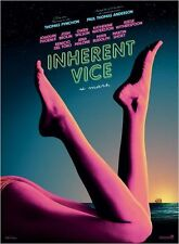 Affiche 40x60cm INHERENT VICE 2015 Joaquin Phoenix, Reese Witherspoon, Del Toro