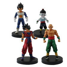 Dragon Ball Bardock Vegeta Tien Chiaotzu PVC Figure Set of 4pcs