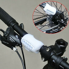 White wholesale high quality 4 colors bike bicycle 7 LED silicon Safety light