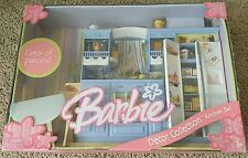Brand New Barbie Decor Collection Kitchen Play Set! Mattel! Fast Shipping!