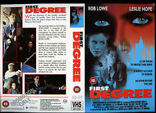 First degree, Rob Lowe Video Promo Sample Sleeve/Cover #13754